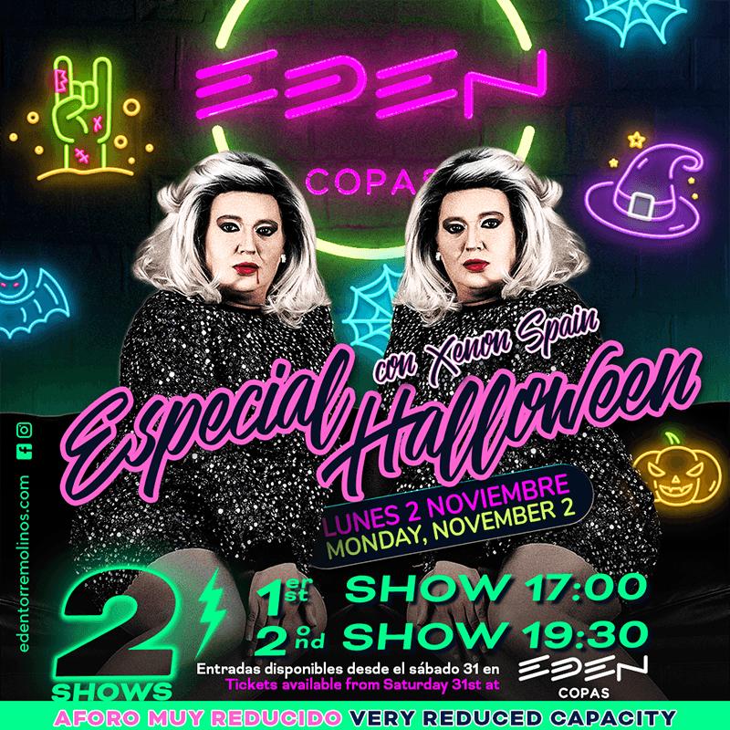 Halloween Party with Xenon Spain at EDEN COPAS