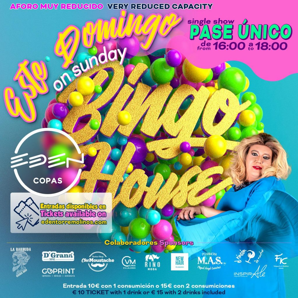 Bingo House domingo en Eden Copas