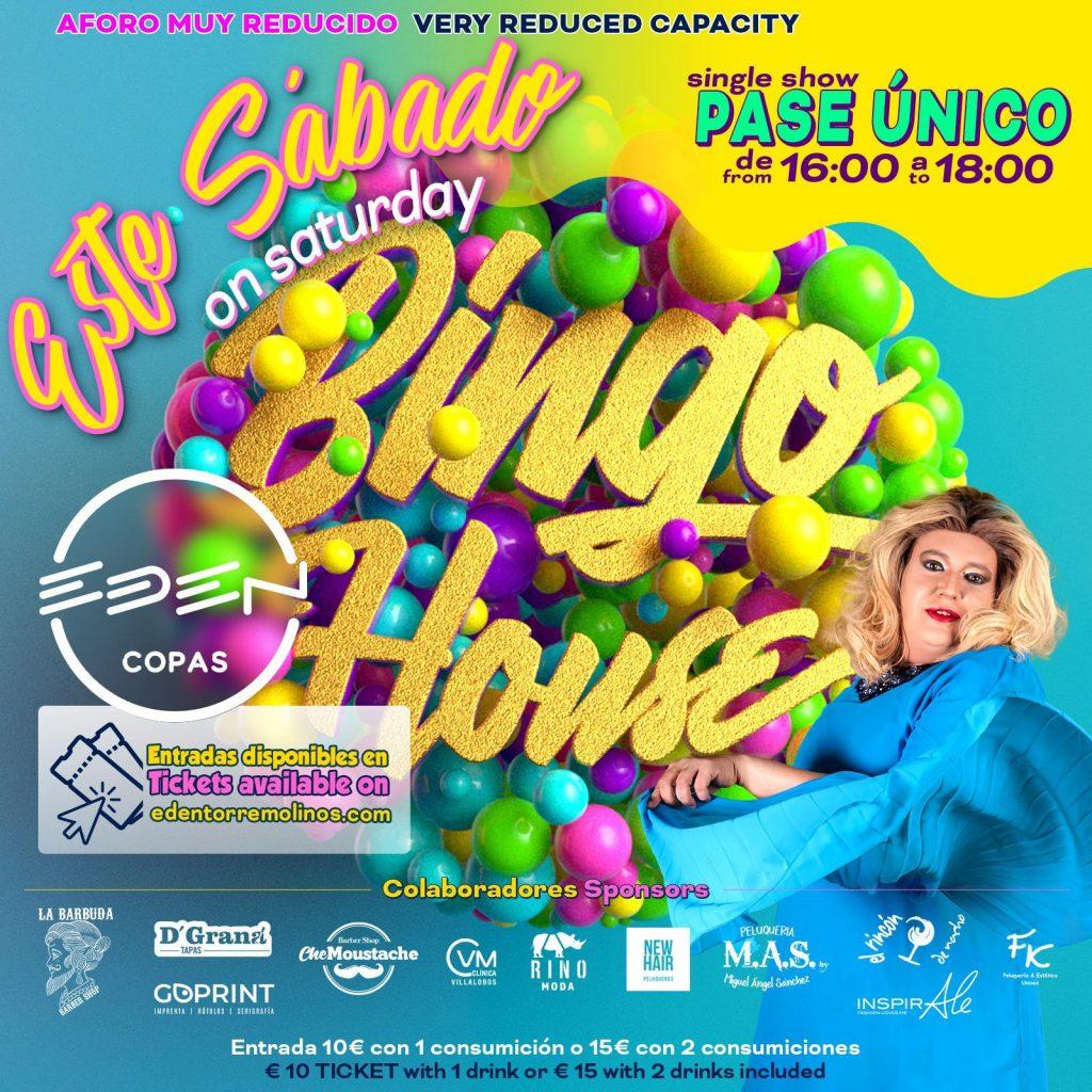 Bingo House Sábado en Eden Copas