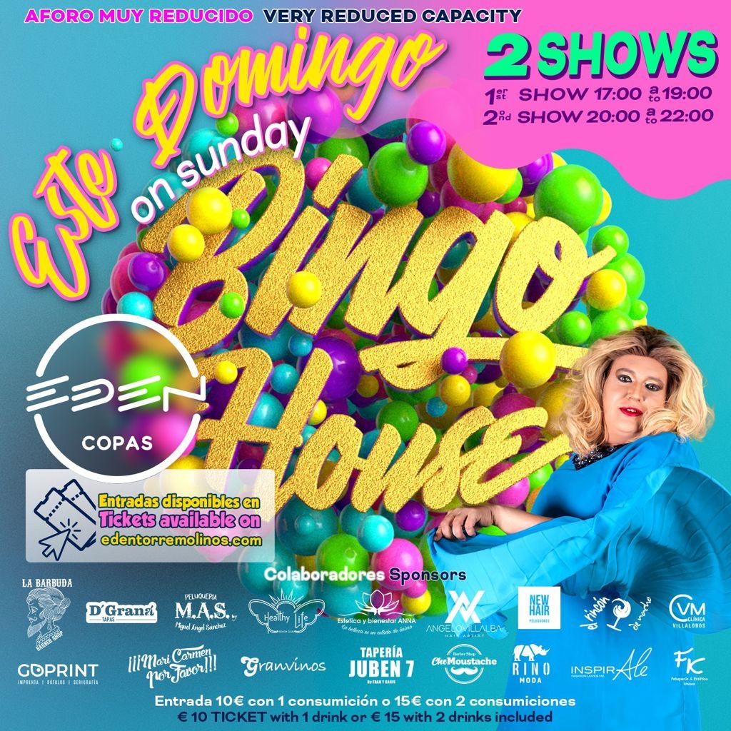 Sunday Bingo House Domingo at Eden Copas